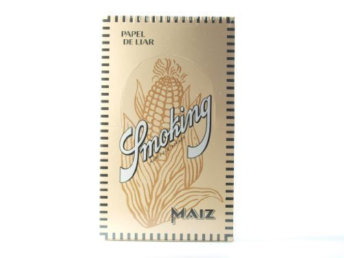 Smoking Arroz Maiz 50er Blättchen 1 Box (50x49) -