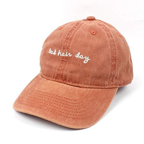 TAIZ Normallack-Baseballmützen Pure Color Light Board Caps Männliche und weibliche Paare Visiere Lässig Gewaschene Cowboyhüte (Color : 4)