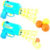 Vivir High Quality Ping Pong Ball Mini Gun Toys For Kids With 6 Pieces Ping Pong Ball Game Set For Kids