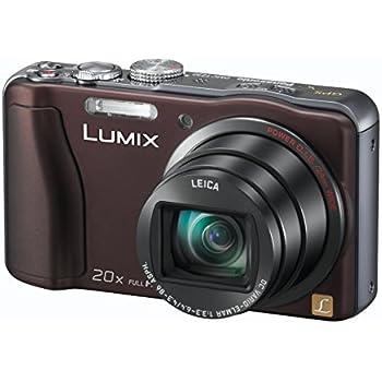 Panasonic DMC-TZ30EF-T Lumix TZ30 Appareil photo compact numérique 14 Mpix Zoom Leica 20x Chocolat