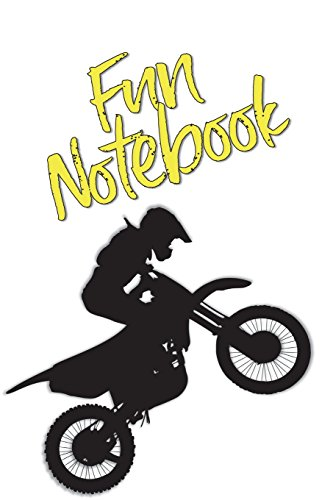 Price comparison product image Fun Notebook: Boys Books - Mini Composition Notebook - Ages 6 -12 - Dirtbike Book