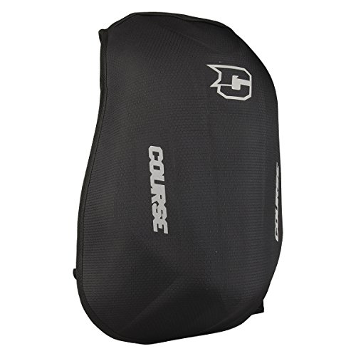 Zaino moto Slipstream Course, Resistente all'acqua, 24L, Nero