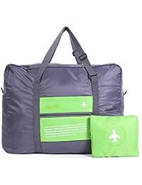 MZP Reisebedarf Reisegepäcktasche Großraumflugzeug Multifunktions-portable zusammenklappbar tragbare Reisetasche , green
