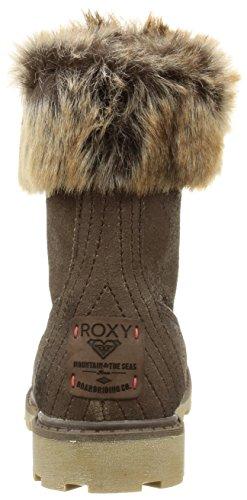 Roxy Timber, Bottes de Neige fourrées femme Marron (Brown)