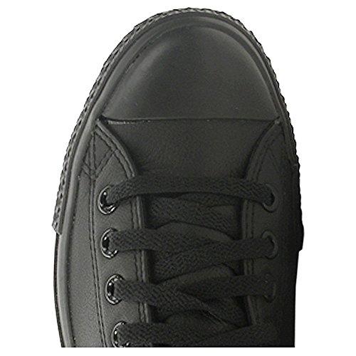 Converse Ctas Mono Ox Cuir Herren Sneaker Black