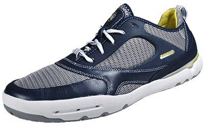 Rockport , Chaussures bateau pour homme Bleu - Navy Marine