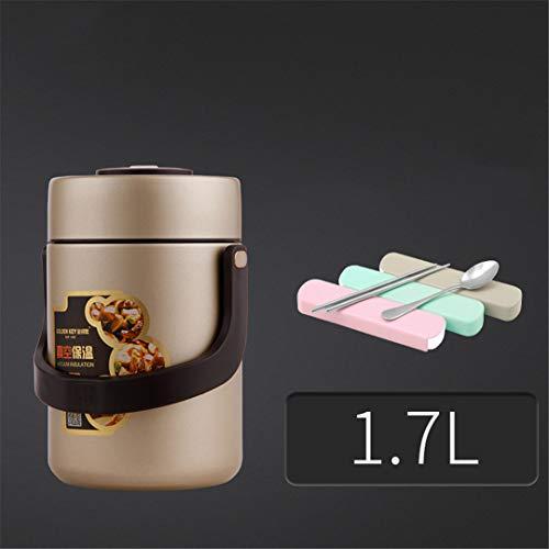 SEIREISA Aislamiento De Acero Inoxidable 304 Bento Boxes Adult Lunch Box Super...