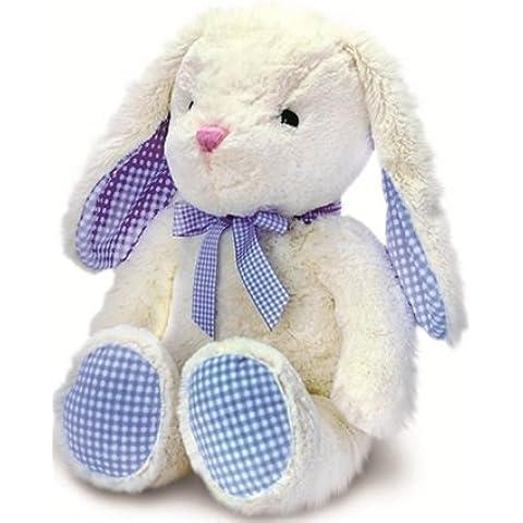 25cm Nursery percalle Coniglio Bianco