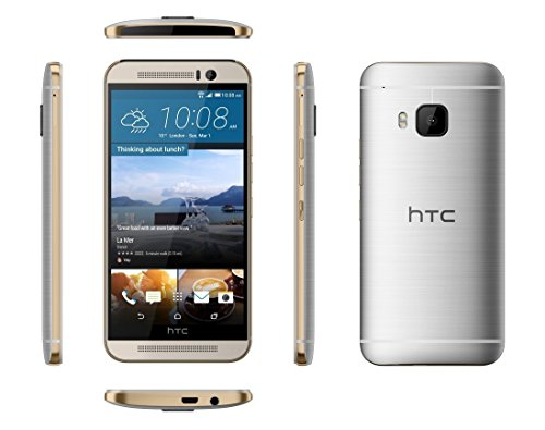 HTC One M9 5  SIM   nica 4G 3GB 32GB 2840mAh Plata - Smartphone  12 7 cm  5    3 GB  32 GB  20 MP  Android  Plata