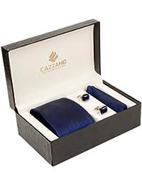 Cazzano Checkered Men's Tie Set (TCPNC216)
