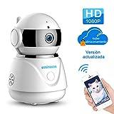 IP cámara WiFi,cámara IP Szsinocam cámaras de vigilancia wifi interior HD 1080P...