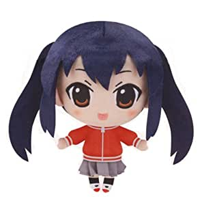 K-On!! Stofftier / Plüsch Figur / Puppe: Azusa Nakano 19 cm (Jersey Version)