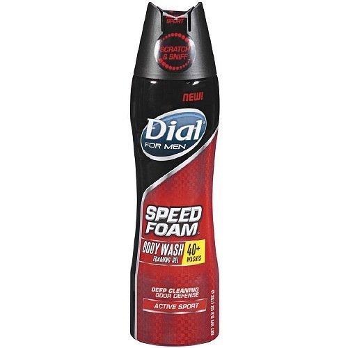 dial-for-men-speed-foam-body-wash-foaming-gel-active-sport-68-oz-by-dial