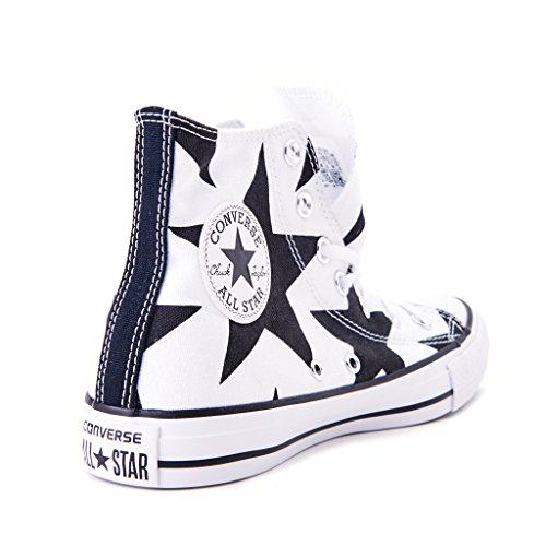 Converse Ctas Hi, Sneaker a Collo Alto Donna Blu