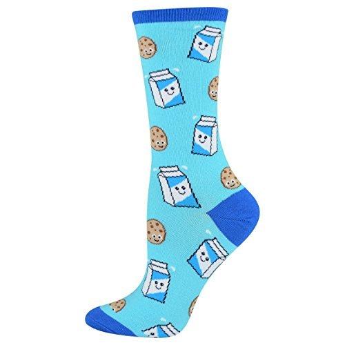 Socksmith Women's Socks Cookies N Milk Crew