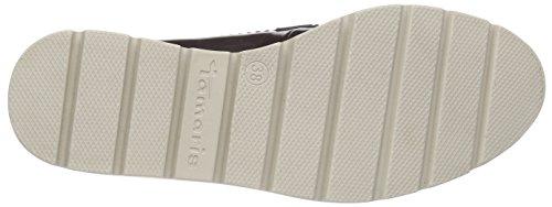 Tamaris24700 - Scarpe chiuse donna Multicolore (Mehrfarbig (Bordeaux 549))