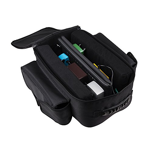 Bsa-rucksack (Ammoon JOYO PC-1Notebook Multieffekt Pedalboard für Gitarre Rat Teppich Pedalboard mit der Rucksack Beutel-Transport)