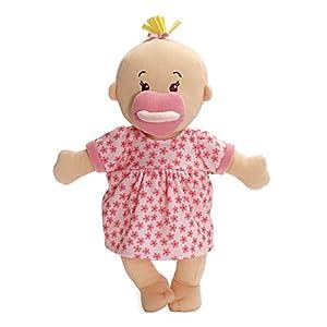 Manhattan Toy 153090Wee Baby Stella Suave muñeca, Peach, 30,5cm