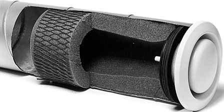 Helios Telephonie-Schalldämpfer ETS 100 für Rohreinschub Zubehör für Ventilatoren 4010184045212