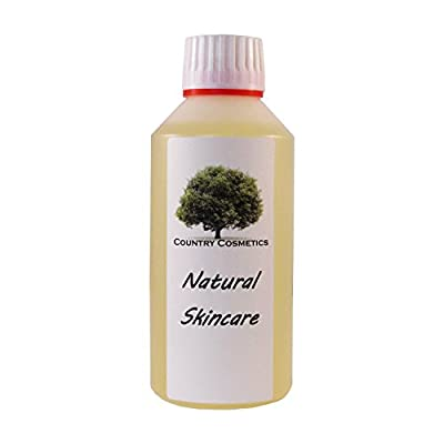 Pure Natural Grapeseed Oil 500ml incl. Free Pump Dispenser by Country Cosmetics