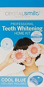 Kit maison de blanchiment professionnel avancé des dents Crystal Smile Autorisé par l'UE et le Royaume-Uni. PEROXIDE FREE - Gel professionnel haut de gamme sans peroxyde - Tous les produits sont fabriqués aux États-Unis