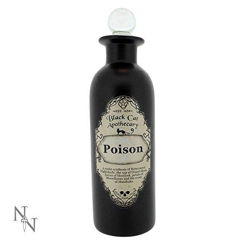Dekorative Trank Flaschen - Potion Bottle - Verschiedene Varianten (Ohne Inhalt) (Poison Potion)