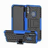 betterfon   Outdoor Handy Tasche Hybrid Case Schutz Hülle Panzer TPU Silikon Hard Cover Bumper für Huawei P Smart 2019 / Honor 10 Lite Blau