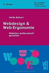 Webdesign und Web-Ergonomie: Websites professionell gestalten