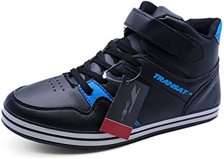 Herren schwarz zum Schnüren Turnschuhe Freizeit Turnschuhe Pumps Stiefeletten Schuhe Größen 6 11