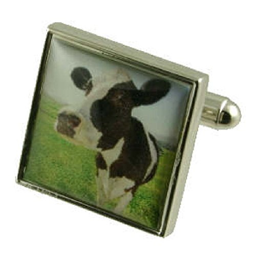 agricultura-vaca-gemelos-para-hombre-plata-de-ley-925-gemelos-free-mensaje-personalizable-caja