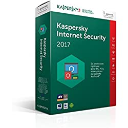 Kaspersky Internet Security 2017 | 3 postes | 1 an | PC/Mac/Android/iOS | Téléchargement