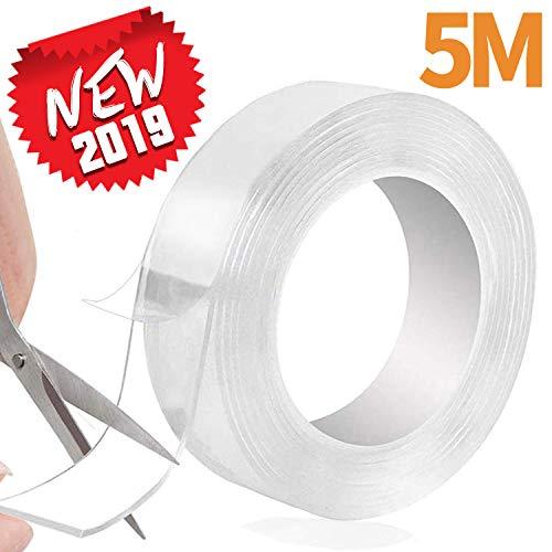 Cinta Adhesiva de Doble Cara Lavable 5M Nano Tape
