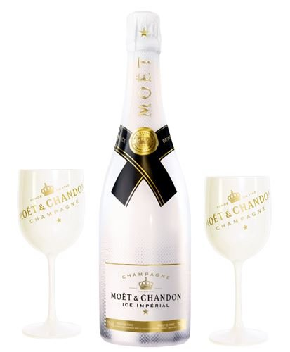Moet & Chandon Ice Imperial 2 Glass Gift 75cl