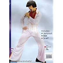 Mens Costume: Rock Star Jumpsuit (X-Large) (disfraz)
