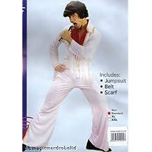 Mens Costume: Rock Star Jumpsuit (X-Large) (disfraz)