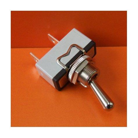 15 Amp Single Pole (Switch- Toggle On/Off 15amp 250V Single Pole Chrome)