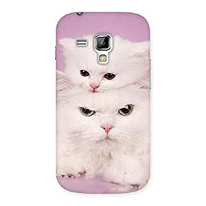 Kitty Family Back Case Cover for Galaxy S Duos