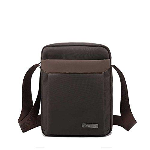 Männer an der Schulter Crossbody Taschen männlich Jahrgang Executive Aktenkoffer Taschen für Dokumente Männer kleine Casual Business Messenger Bag (Executive-aktenkoffer-tasche)