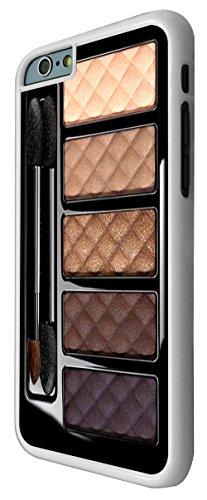 568-Fashion Maquillage Palette Print Design Coque iPhone 66S 4.7Design Fashion Trend Case Back Cover Métal et Plastique-Blanc