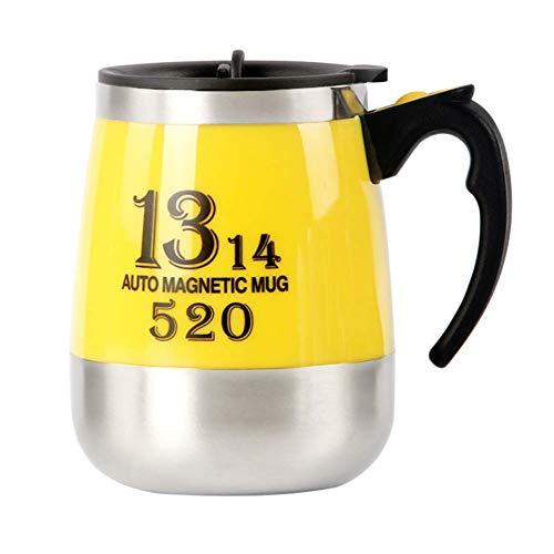 YLRJ Automatic Electric Lazy Automatische Rührbecher Kaffeetasse Automatische Tasse Milch Rühren Tee Intelligente Edelstahl Tasse Mischen -