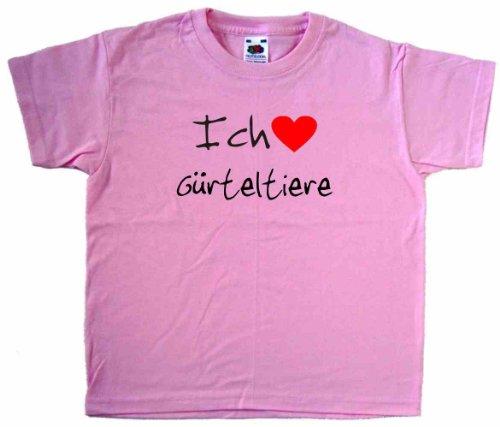 ich-liebe-gurteltiere-kinder-t-shirt-rosa-schwarz-und-rot-motiv-grosse-5-6-jahre