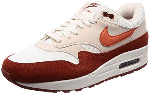 Nike Air MAX 1, Zapatillas de Gimnasia para Hombre, Beige (Sail/Vintage Coral/Mars Stone 104), 42 EU