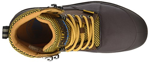 Palladium Unisex-Erwachsene Sporcuf Wp2.0 U Hohe Sneaker Gelb (Amber Gold/chocolate)