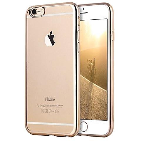 Coque Clair's - Coque iPhone 6/6s, Transparent Clair Gel Silicone