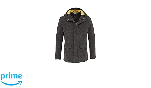 Bugatti - Cappotto - Uomo Grau (58) 62  Amazon.it  Abbigliamento 5f1ab328322