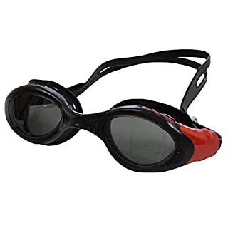 Aplus Plus Adults UV Anti Fog Swimming Goggles - Black