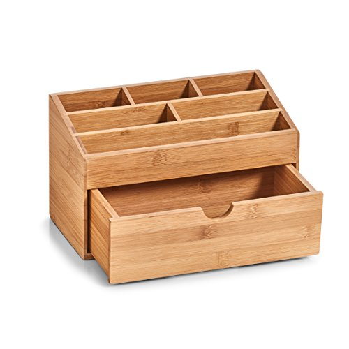 Zeller 25386 Organizer, Holz, natur, 25.4 x 12.5 x 15 cm - 2
