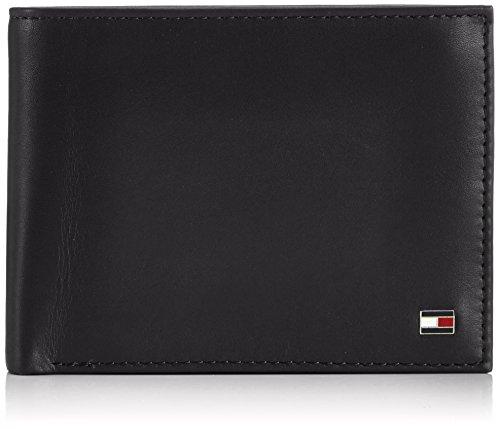 Portafogli Uomo Tommy Hilfiger Mod. Eton CC Flap Coin Pocket BM56924736 Col. Nero.