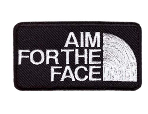 Titan One Europe - Aim For The Face Patch Parche Decorativo