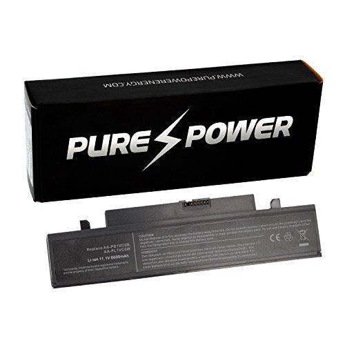 Purepower PURE⚡POWER® EXTENDED Laptop Akku für Samsung NP-X420-AA01-SE (10.8/11.1V, 6600 mAh, schwarz, 9 Zellen)